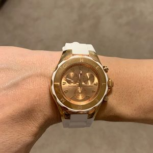 Authentic Michele Jelly watch